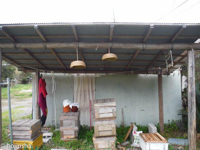 【日本ミツバチ】分蜂板の作り方